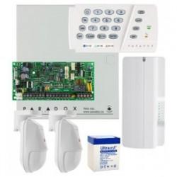 Kit alarma FIR Paradox  2 senzori fir si modul SMS