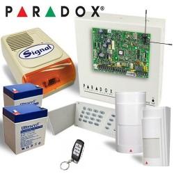 Kit alarma RADIO Paradox 2 senzori Radio cu sirena de exterior